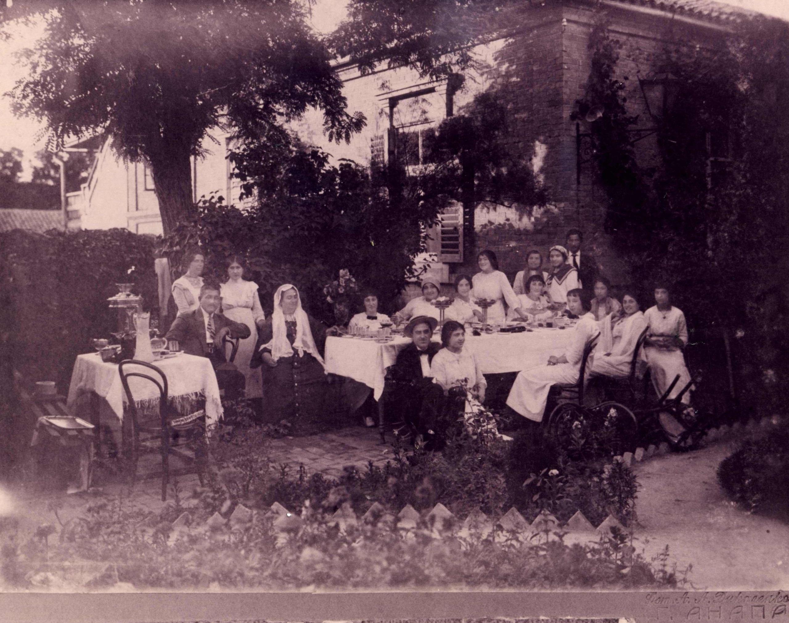 Адыгейская семья Шеретлуковых (п.Суворово-Черкесский)