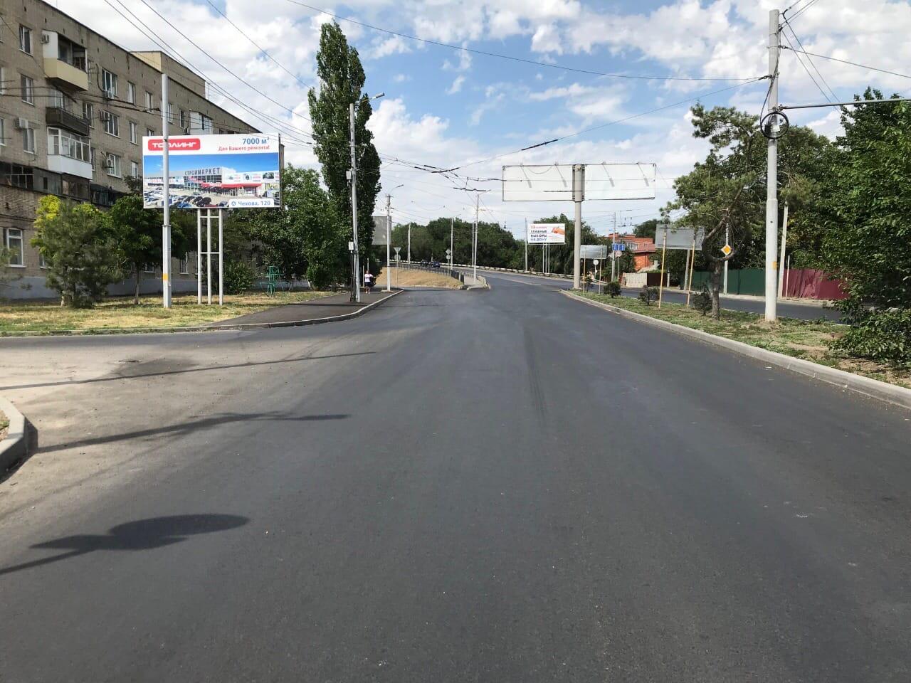 В Таганроге продолжают реализовать национальный проект «Безопасные и качественные автомобильные дороги»
