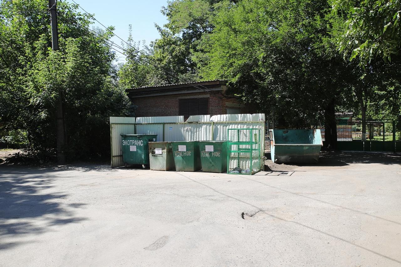 Василий Голубев проинспектировал работу регоператора по обращению с ТКО «Экотранс» в Таганроге