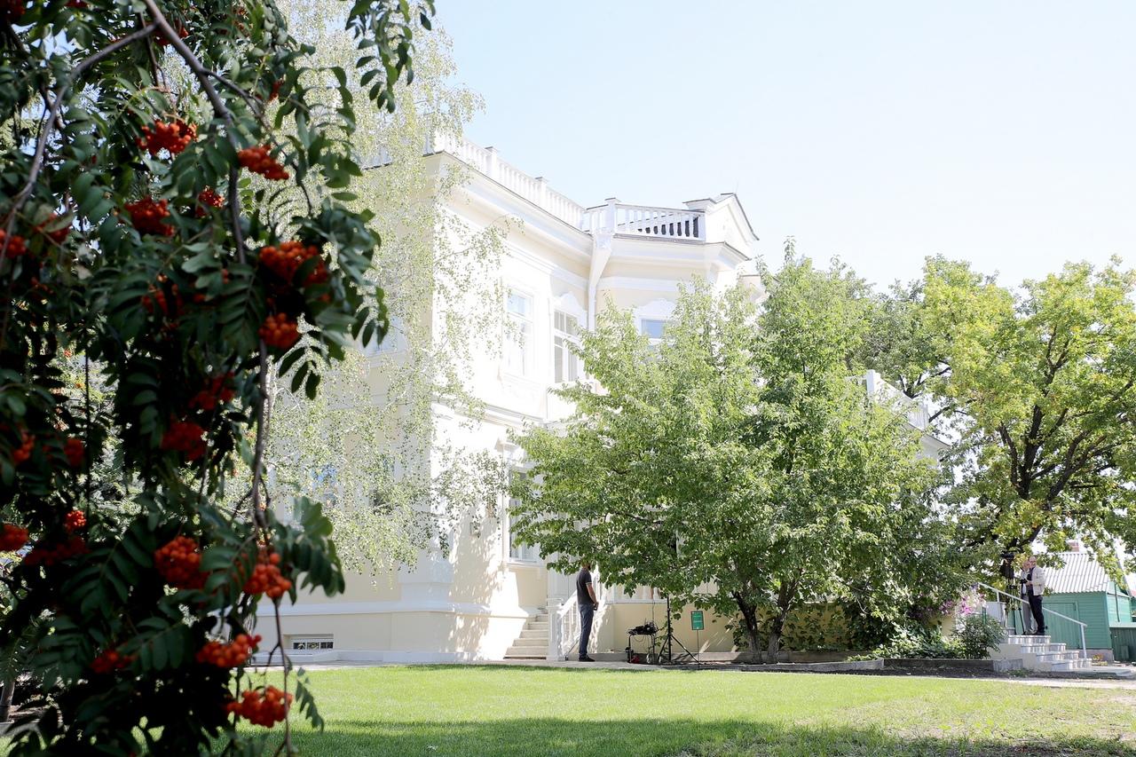 В год 115-летия М.А.Шолохова после реставрации открыт музей-усадьба писателя