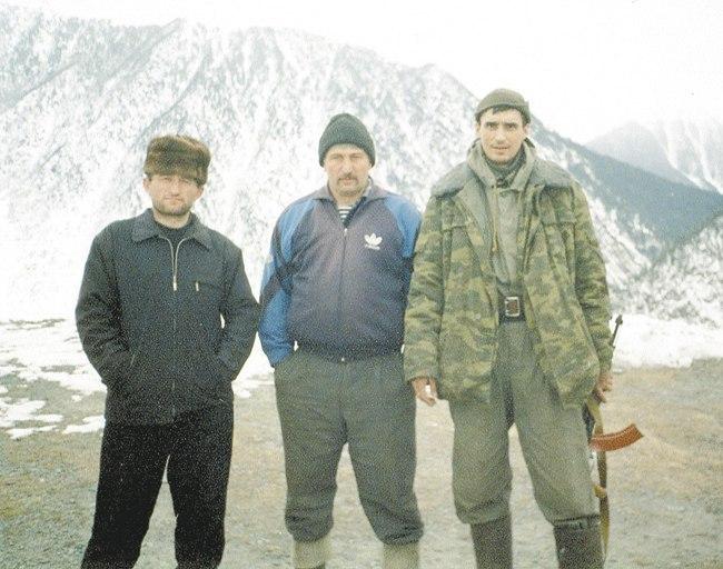 С местными жителями из аула Хушет