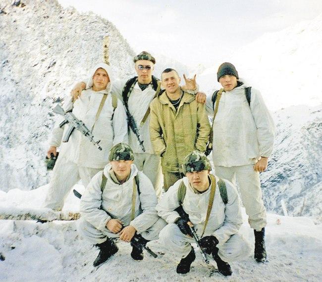 Спецназ в горах