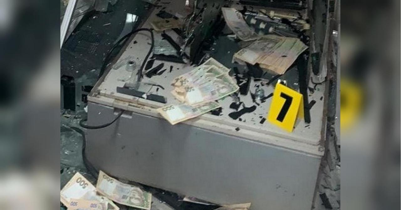 В Рубежном подорвали банкомат «Ощадбанка»