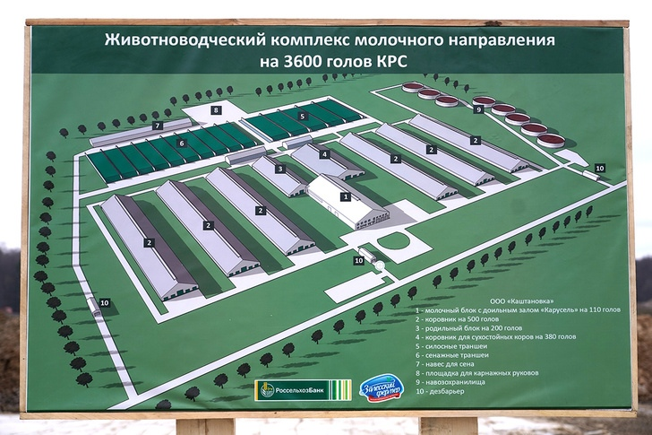 Крупнейшие проекты в молочной отрасли. Обзор строительства, изображение №4